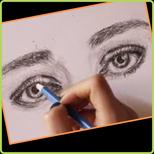 Como dibujar un ojo humano - Ojos Realistas
