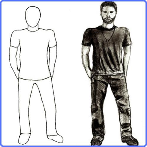 Tecnicas Para Dibujar Personas