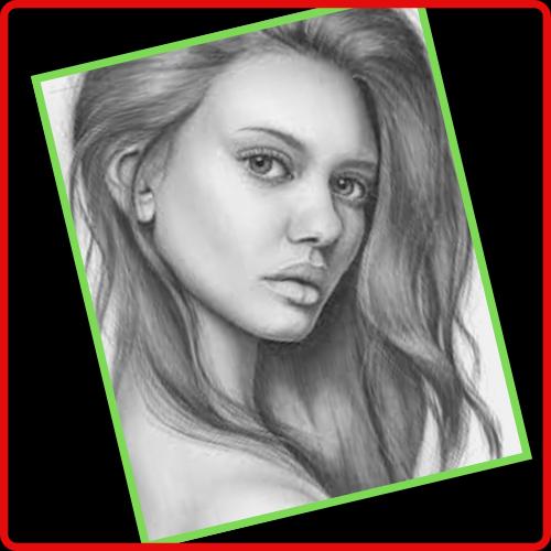 Como hacer retratos a lapiz